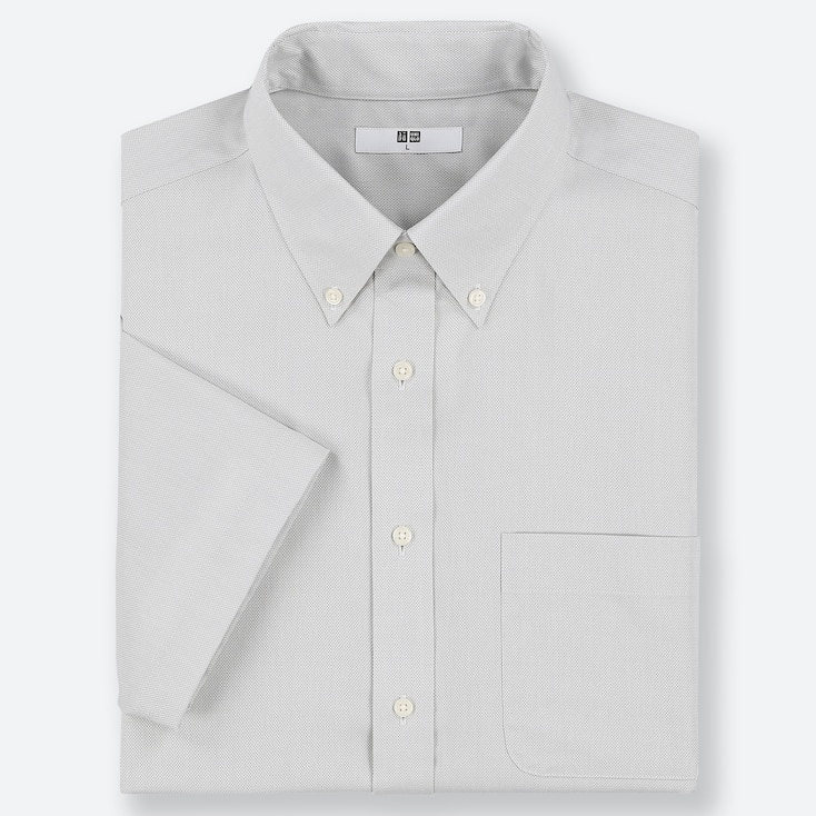 bffa8b4c0a MEN DRY EASY CARE OXFORD SHORT SLEEVED SHIRT | UNIQLO