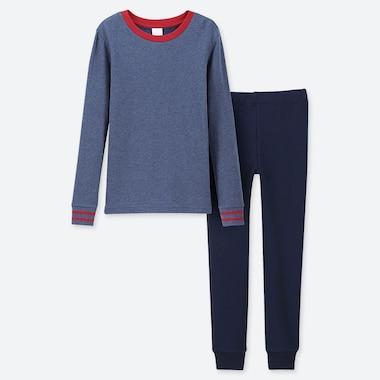 BOYS ULTRA STRETCH SWEAT SET, BLUE, medium