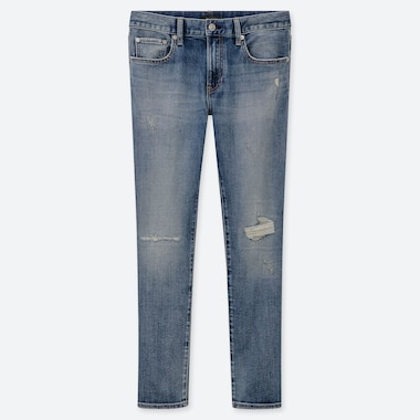 MEN SLIM FIT DISTRESSED JEANS