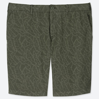 MEN CHINO SHORTS, OLIVE, medium