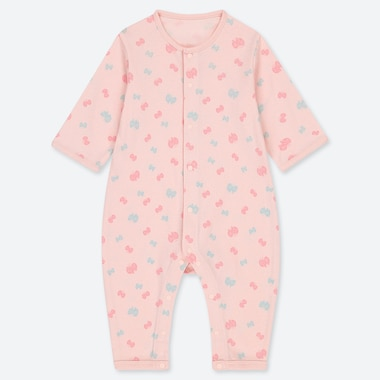BABIES NEWBORN LONG SLEEVE ONE PIECE OUTFIT