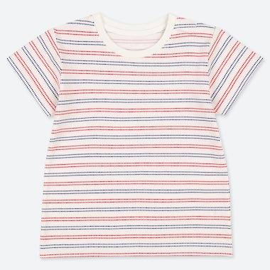 TODDLER CREW NECK SHORT-SLEEVE T-SHIRT, OFF WHITE, medium