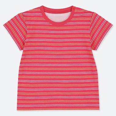 TODDLER CREW NECK SHORT-SLEEVE T-SHIRT, RED, medium