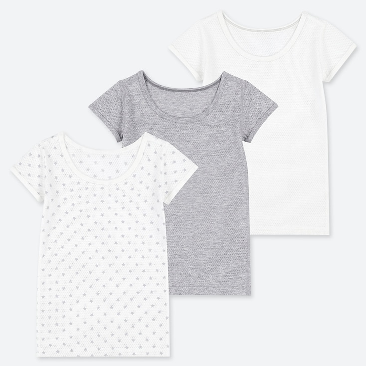 TODDLER COTTON MESH SHORT-SLEEVE INNER (SET OF 3), GRAY, large