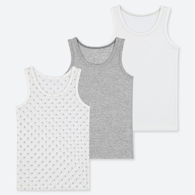 TODDLER COTTON MESH INNER TANK TOP (SET OF 3), GRAY, medium