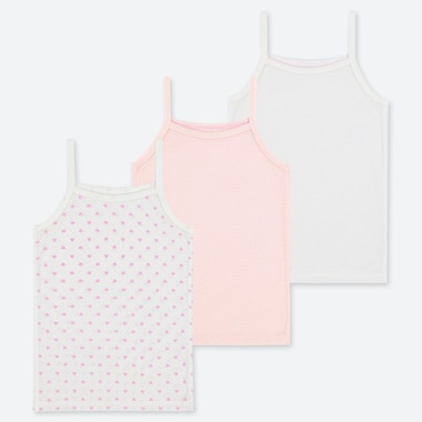 BABIES TODDLER COTTON INNER CAMISOLE TOP (THREE PACK)