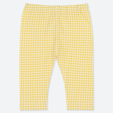TODDLER CROPPED LEGGINGS, YELLOW, medium