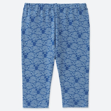 BABY BEDRUCKTE LEGGINGS IN 7/8-LÄNGE MICKEY BLUE