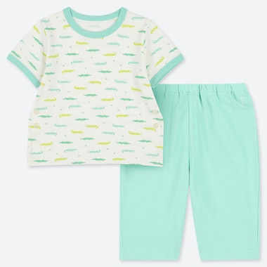 BABIES TODDLER DRY SHORT SLEEVED PYJAMAS