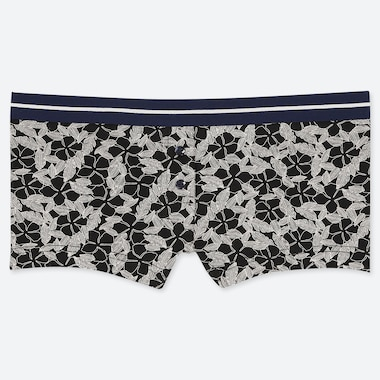 WOMEN FLORAL PRINT BOY SHORTS