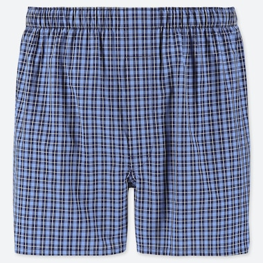 MEN WOVEN CHECKED TRUNKS