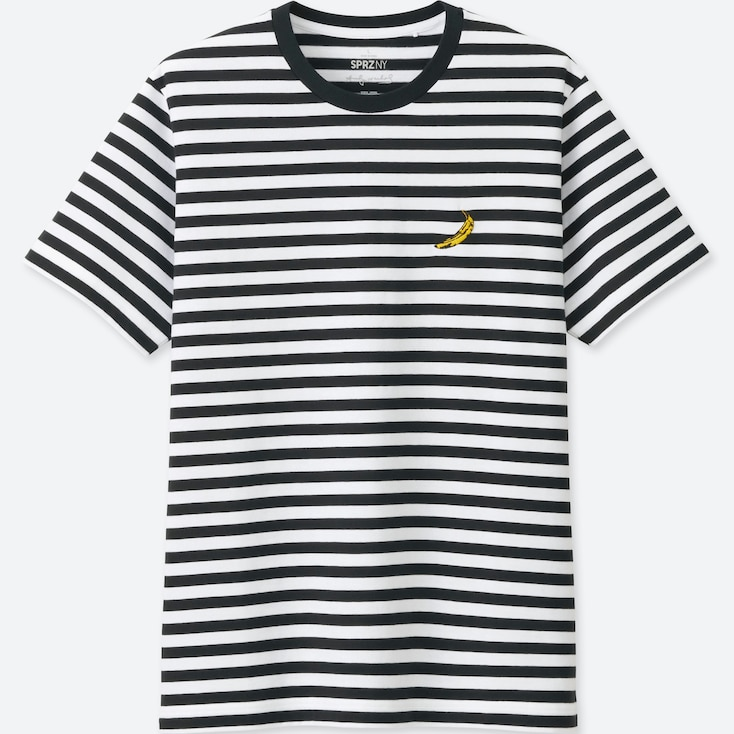 UT SPRZ NY ANDY WARHOL T-SHIRT GRAPHIQUE HOMME