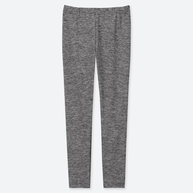 KIDS DRY LEGGINGS, DARK GRAY, medium