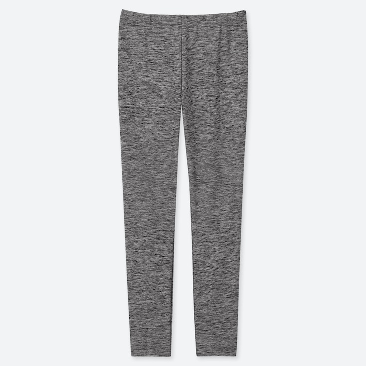 KIDS DRY LEGGINGS, DARK GRAY, large