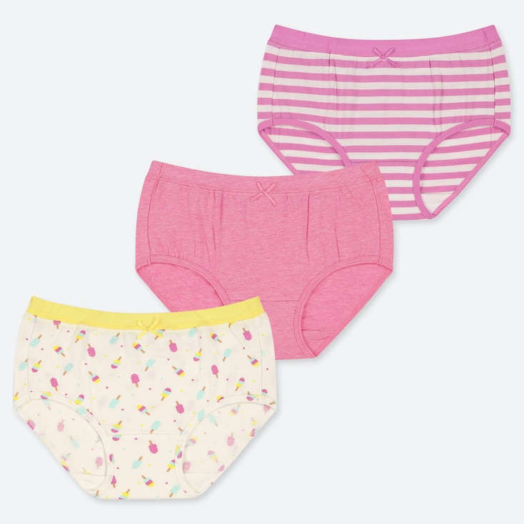 GIRLS SHORTS (SET OF 3), OFF WHITE, large