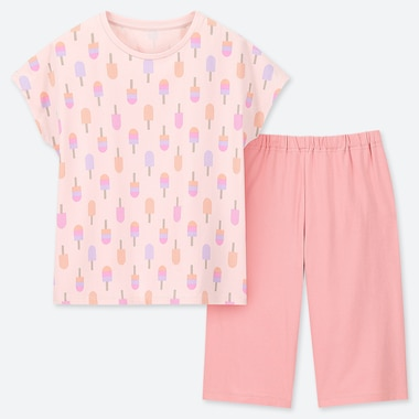 GIRLS DRY STRETCH ICE CREAM PRINT SET