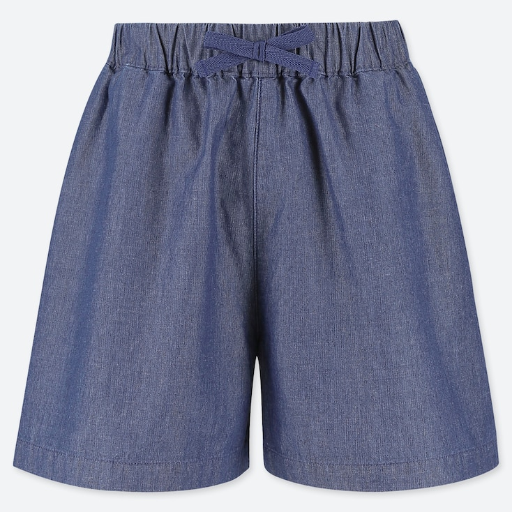 SHORT BAMBINA EASY SVASATI IN CHAMBRAY