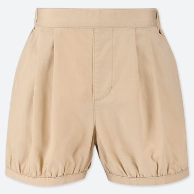 GIRLS EASY PUMPKIN SHORTS, NATURAL, medium