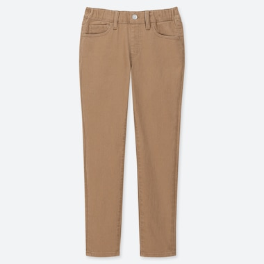 KIDS ULTRA STRETCH RELAXED PANTS, BEIGE, medium