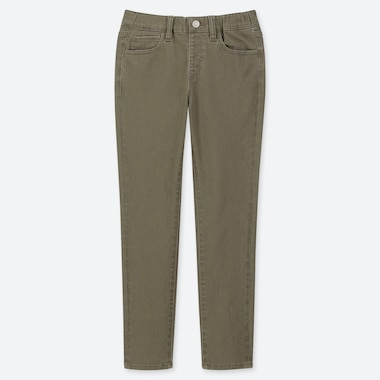 BOYS ULTRA STRETCH RELAXED PANTS, OLIVE, medium