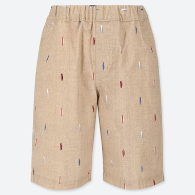 BOYS EASY SHORTS, BEIGE, medium