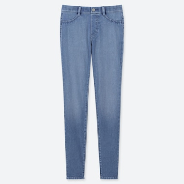 Women Ultra Stretch Denim Leggings Pants Uniqlo Us