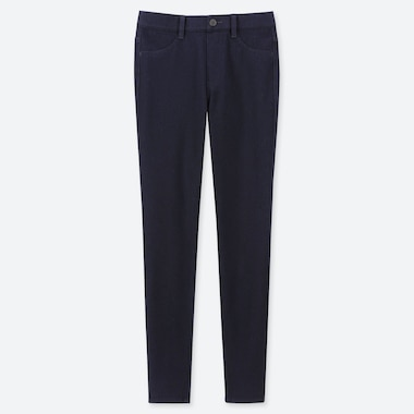 DAMEN SMARTE ULTRA STRETCH LEGGINGS IN JEANSOPTIK (L29)