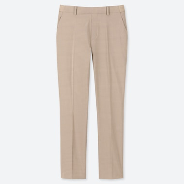 WOMEN EZY SATIN ANKLE LENGTH TROUSERS (L28)