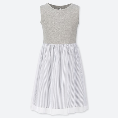 GIRLS TULLE SLEEVELESS DRESS