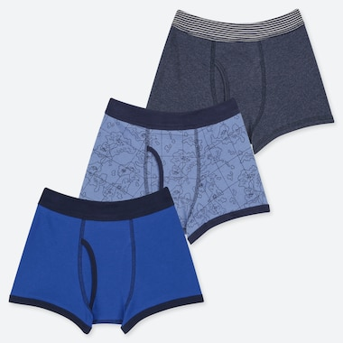 BOYS BOXER BRIEFS (SET OF 3), BLUE, medium