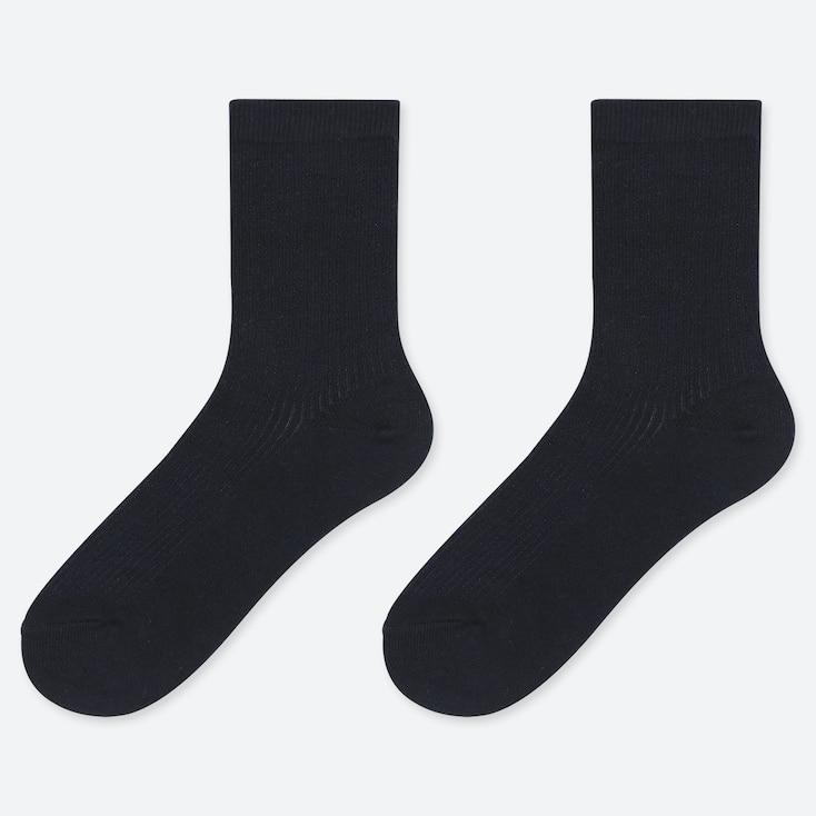 KIDS REGULAR SOCKS (SET OF 2), NAVY, large