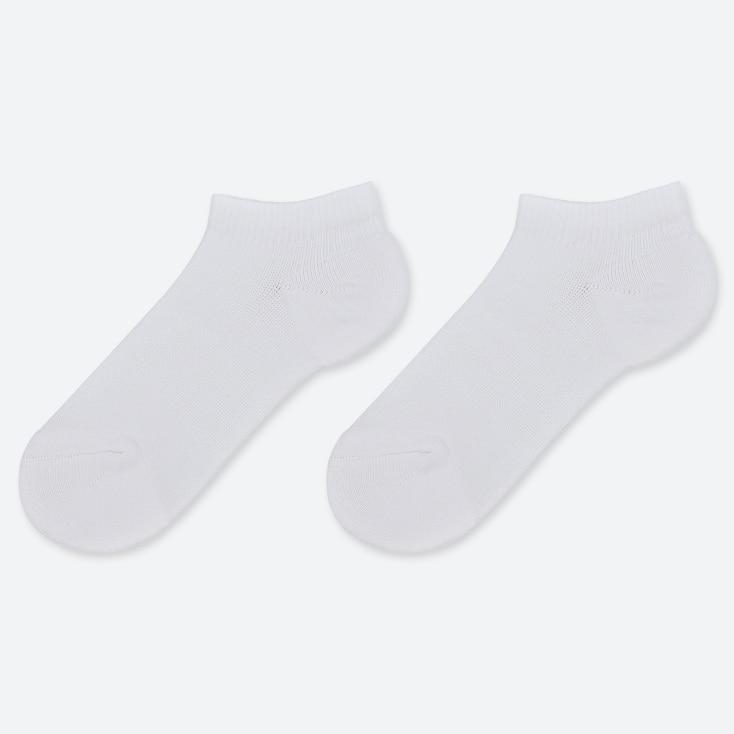 KIDS SHORT SOCKS (SET OF 2), WHITE, large