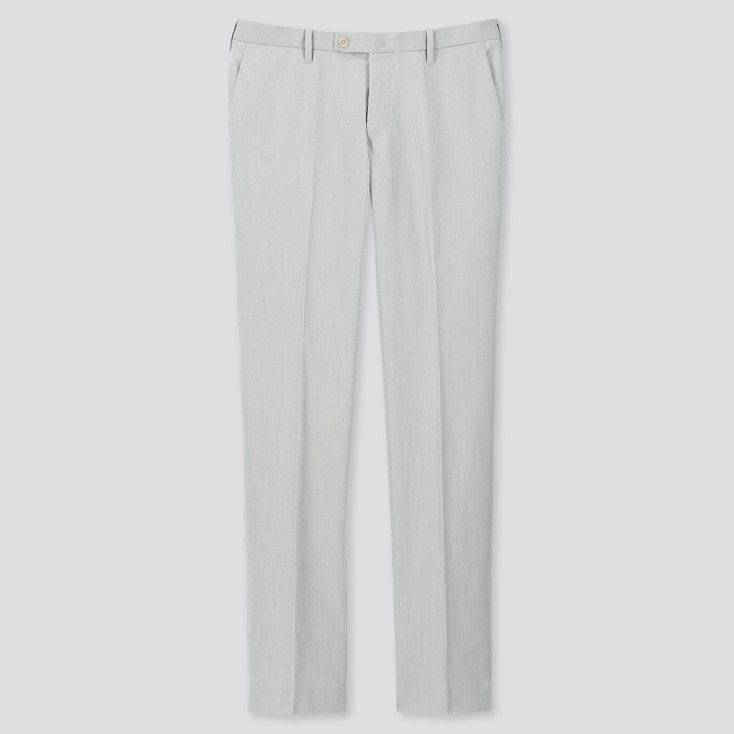 6fb3acf584 MEN KANDO ADAM SCOTT ULTRA LIGHT STRIPED TROUSERS (L34) | UNIQLO UK