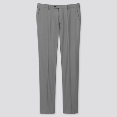 MEN HOUNDSTOOTH KANDO PANTS (ULTRA LIGHT), GRAY, medium