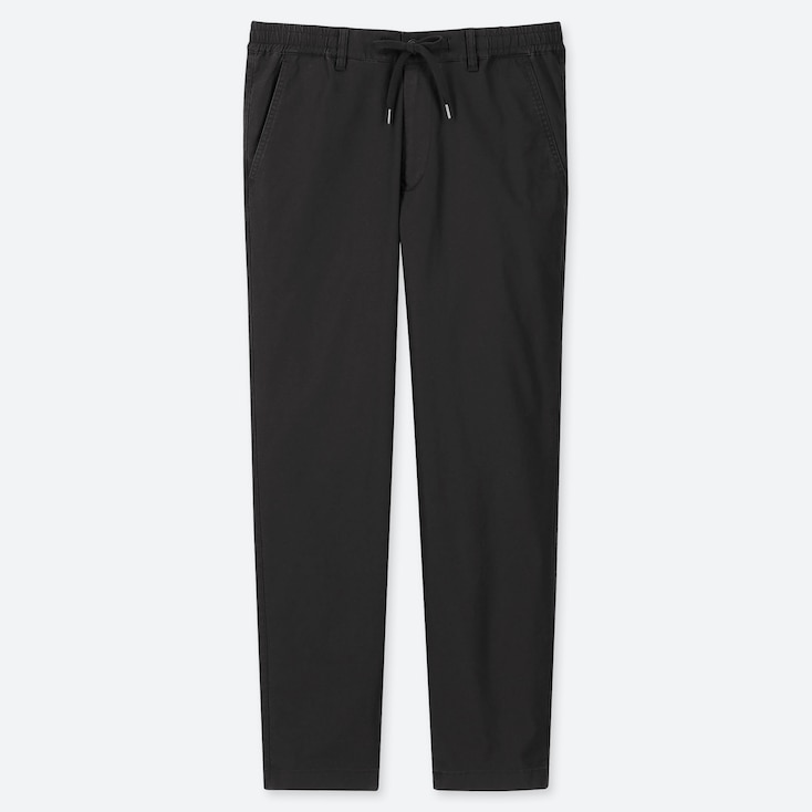 MEN PULL-ON RELAXED PANTS, BLACK, large