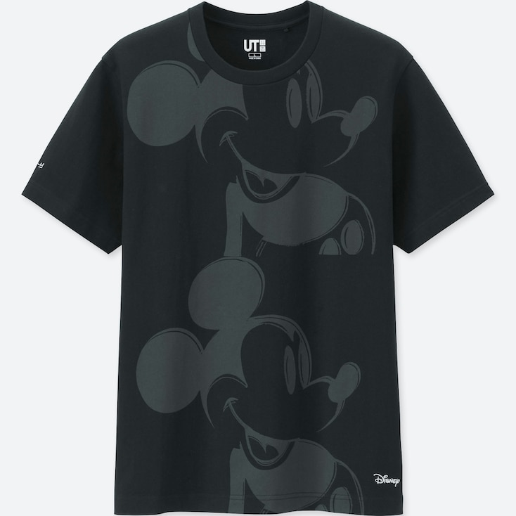 MICKEY MOUSE ART BY ANDY WARHOL UT (SHORT-SLEEVE GRAPHIC T-SHIRT), BLACK, large