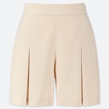 WOMEN TUCKED SHORTS