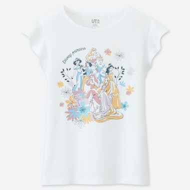 GIRLS DISNEY BLOSSOMING DREAMS UT GRAPHIC T-SHIRT