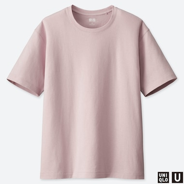 WOMEN UNIQLO U RELAXED FIT SHORT SLEEVED T-SHIRT