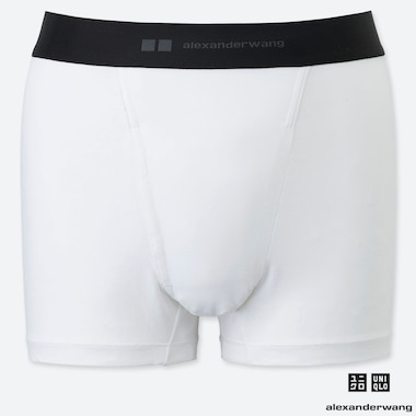MEN AIRism BOXER BRIEFS (ALEXANDER WANG), WHITE, medium