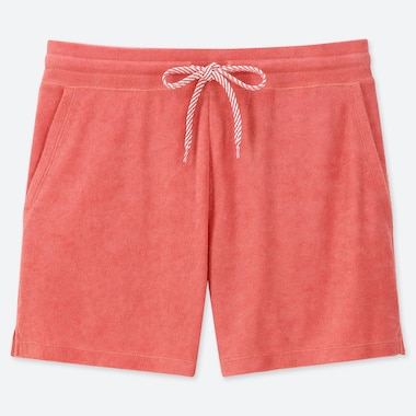 WOMEN AIRISM PILE SHORTS
