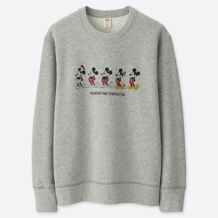 CELEBRATE MICKEY GRAPHIC SWEATSHIRT, GRAY, large