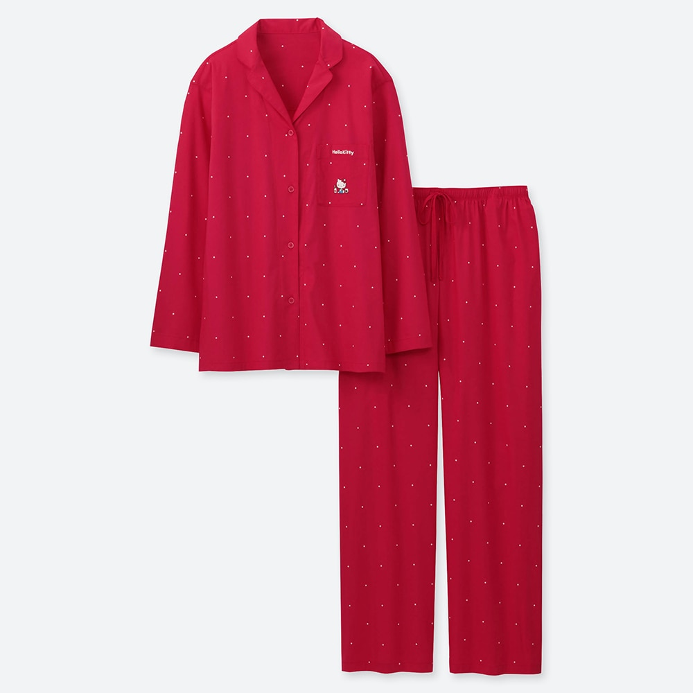 7b684ad96 WOMEN SANRIO SOFT STRETCH PAJAMAS, RED, large Opens a New Window.