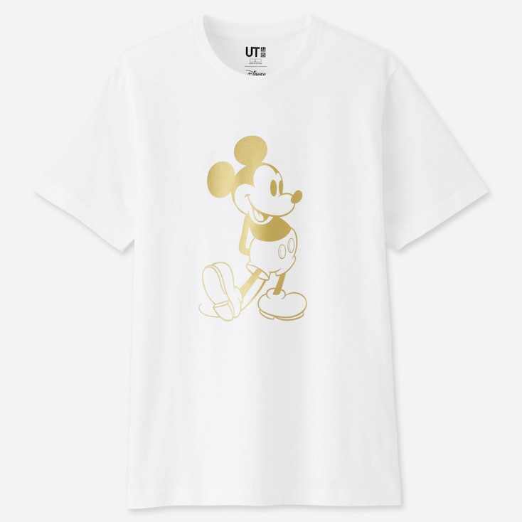 MICKEY STANDS UT (SHORT SLEEVE GRAPHIC T-SHIRT), 90, large