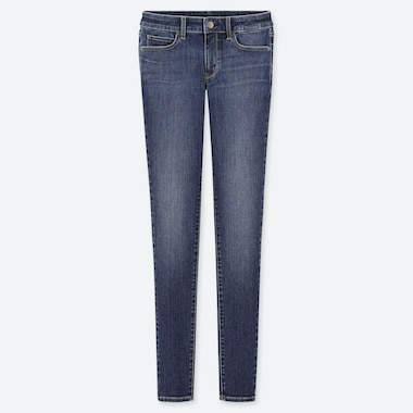 WOMEN ULTRA STRETCH MID RISE SKINNY FIT JEANS (L32)