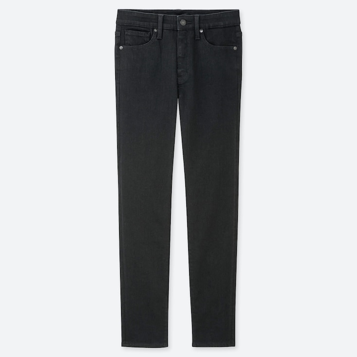 """WOMEN COMPRESSION HIGH-RISE SKINNY STRAIGHT ANKLE JEANS (TALL 31"""") (ONLINE EXCLUSIVE), BLACK, large"""