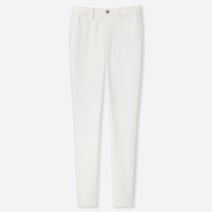 """WOMEN ULTRA STRETCH LEGGINGS PANTS (TALL 32"""") (ONLINE EXCLUSIVE), WHITE, large"""