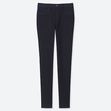 PANTALONI LEGGINGS DENIM ULTRA ELASTICIZZATI DONNA