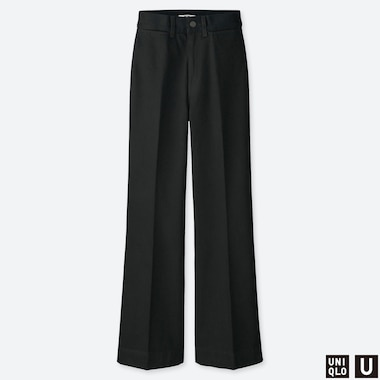 WOMEN UNIQLO U HIGH WAISTED FLARED JEANS