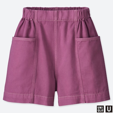 SHORTS DENIM UNIQLO U EASY DONNA